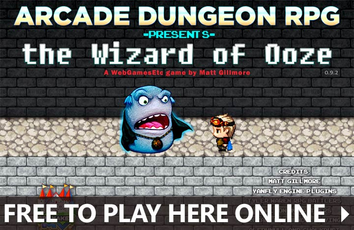 FREE TO PLAY ONLINE WEBGAME THE WIZARD OF OOZE