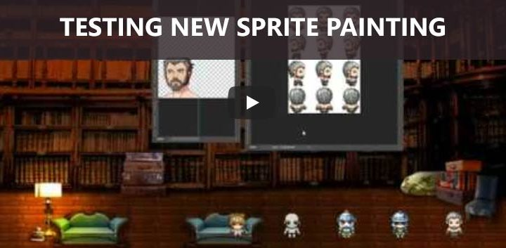 RPG Maker Game Dev Diary 2 Sprites and Resolution