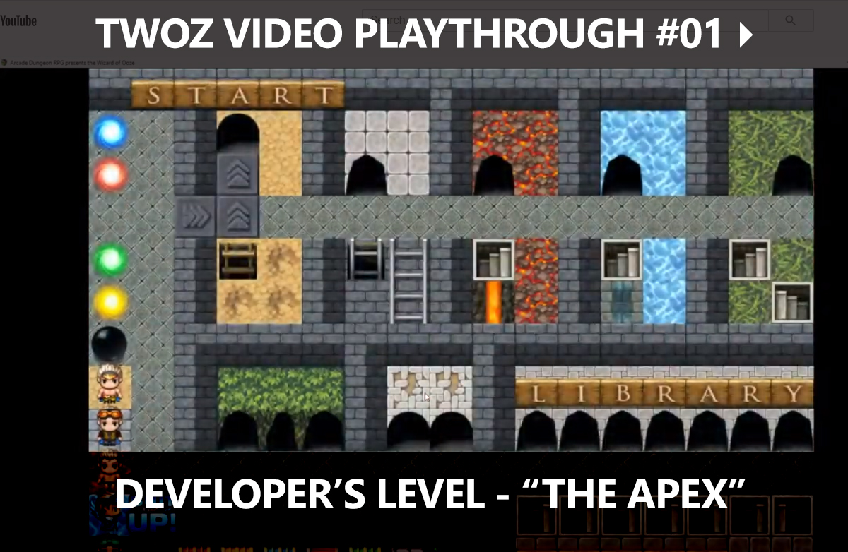 TWOZ Video Play-through 01