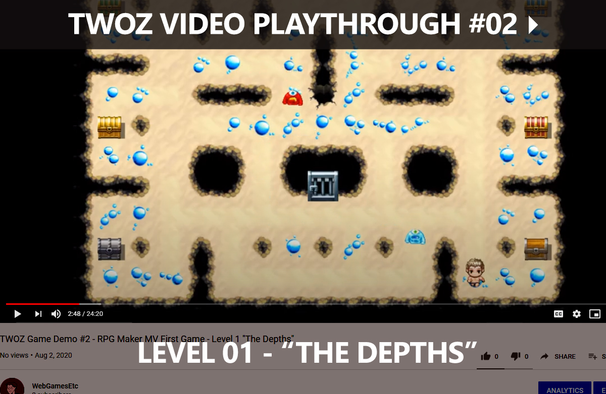 TWOZ Video Play-through 02