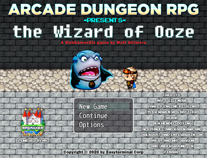 Free-to-Play Webgame Wizard of Ooze